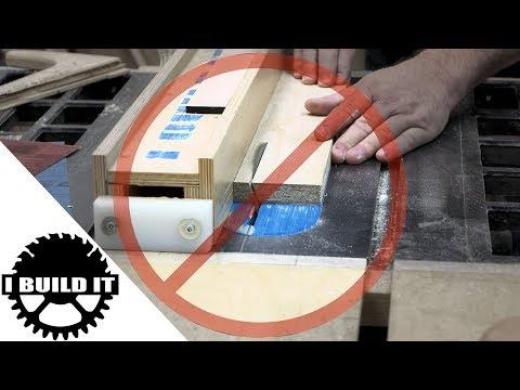 Table Saw Basics - Bevel Cuts