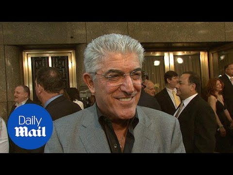 Veteran actor Frank Vincent discusses 'The Sopranos' in 2007 - Daily Mail