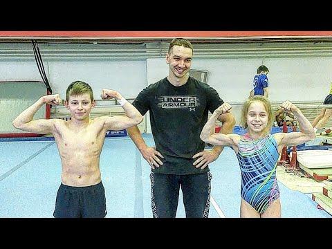 ОФП ЗАРУБА: гимнаст против гимнастки