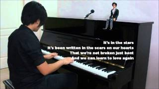"PINK ""Just Give Me A Reason"" ft. ADAM LAMBERT ""Whataya Want From Me"" (PIANO and VIOLIN Medley)"