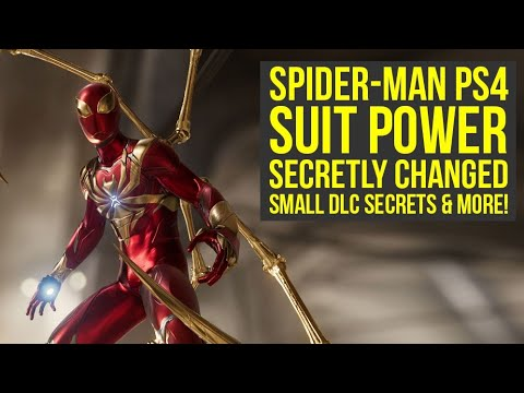 Spider Man PS4 Update SECRETLY CHANGED Suit Power, Raimi Suit Backstory & More! (Spiderman PS4 DLC)
