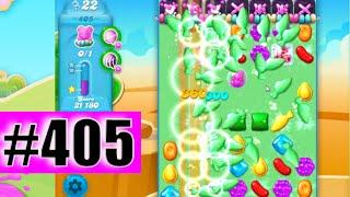 Candy Crush Soda Saga Level 405 NEW | Complete!