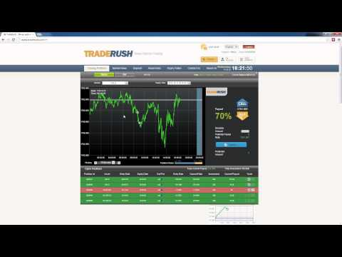 Binary Options Daily Trade #1 (17 Oct. 2012) HD