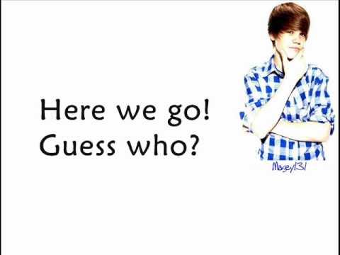 Justin Bieber ft Jaden Smith Never Say Never (LyricsOn Screen)