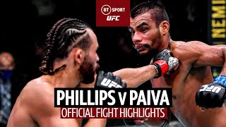 What a comeback! Kyler Phillips v Raulian Paiva | UFC Fight Highlights