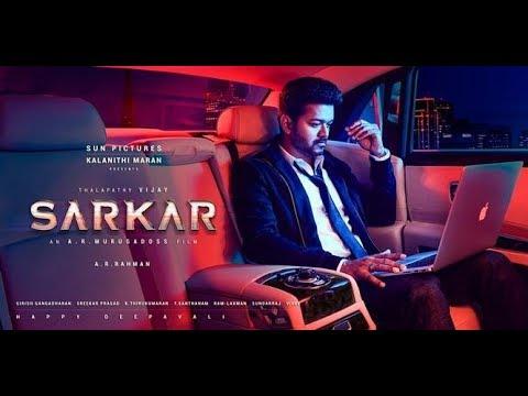 SARKAR Theme Music | Thalapathy Vijay | A.R.Murugadoss | A.R.Rahman |The Countdown
