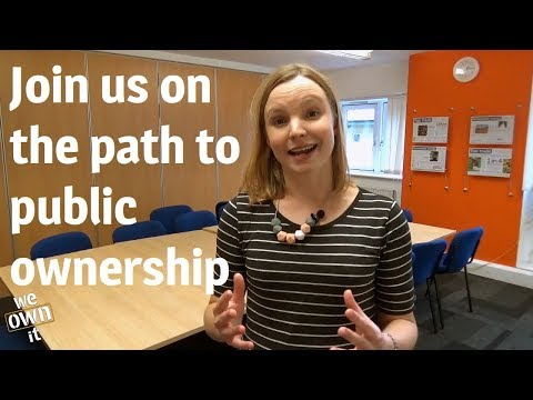 Join us on the path to public ownership - subscribe now!