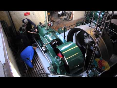 94hp National Gas Pumping Engine from 1909 at Cambridge Museum of Technology
