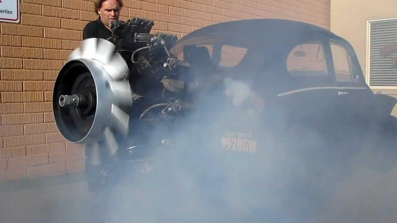 画像: Radial Engine Start Up youtu.be