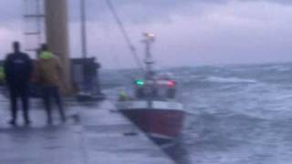 bad weather at sea