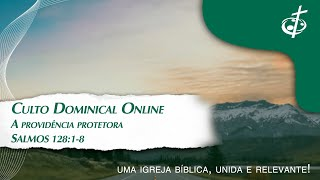 A PROVIDENCIA PROTETORA - SALMOS 121:1-8 Pr. Renato Vieira