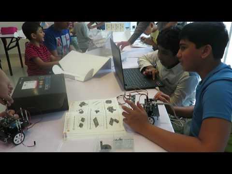 Robotics Classes in Abudhabi - Time Master