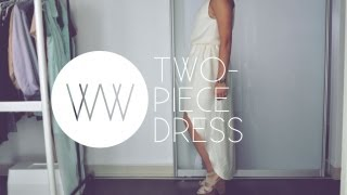 How to Make a Two-Piece Dress | WITHWENDY