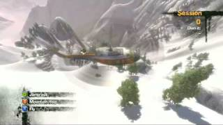 Stoked Snowboarding Gameplay and Weather