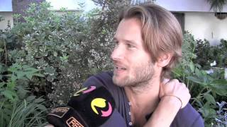 Interview with Johann Urb as Leon Kennedy in Resident Evil: Retribution