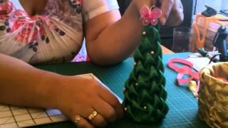 Repeat youtube video Bea Stella Capitone Clase 14 - Proyectos Navideños en Capitone
