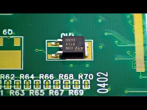Professional Solder Training - How to:   Surface Mount DPAK