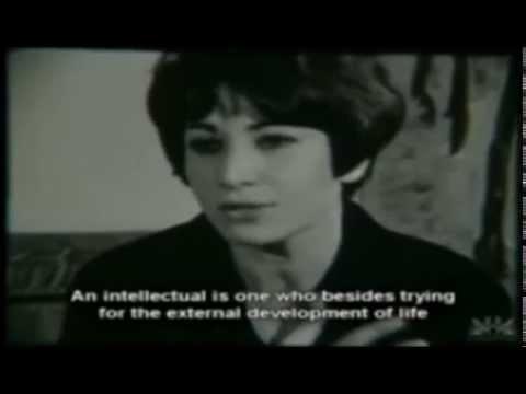 Forugh Farrokhzad Interviewed by Bernardo Bertolucci (1965) [Short Segment]