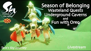 Sky Children of the Light Season of Belonging: Wasteland Quests, Forest Visiting, and Oreo Stacking