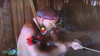 Naked Tribe Village from Amazon. Натуризм Индейцы с Амазонка.