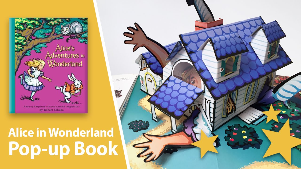 Alice in Wonderland Pop-Up Book by Robert Sabuda