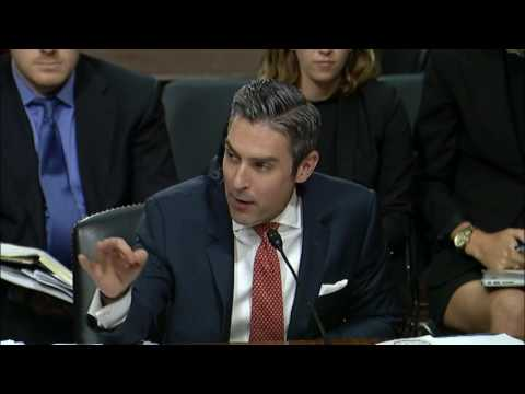 Damon Wilson testifies before the Senate Armed Services Committee