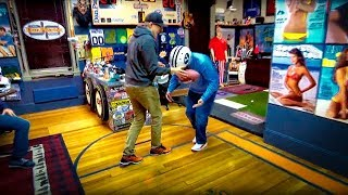 CSI Milford The Danettes Reenact Tom Bradys Hand Injury  The Dan Patrick Show  12218