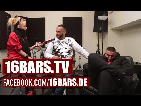 "Hanybal & Haftbefehl über das Azzlackz Signing, Azad & ""Weg von der Fahrbahn"" (16BARS.TV)"