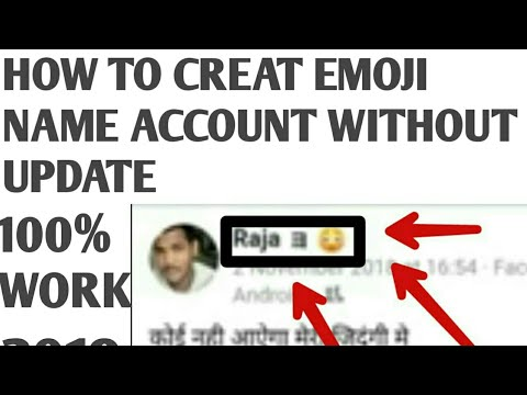 Download How To Make Emoji Or Face Name Fb Account Without