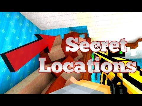 Top 5 secret locations in Pixel gun 3d