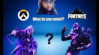 Fortnite Copying Overwatch Skins!? Part 2