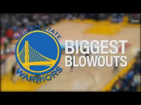 The Warriors Biggest Blowouts