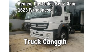 Review Mercedes Benz Axor 1623 R,Manual 6Speed, 2019 Indonesia