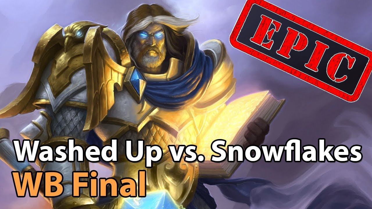 EPIC - Washed Up vs. Snowflakes - Nexus Cup - Heroes of the Storm Tournament