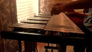 """""""A Night In Tunisia"""" Improv Jazz Vibraphone Solo"""