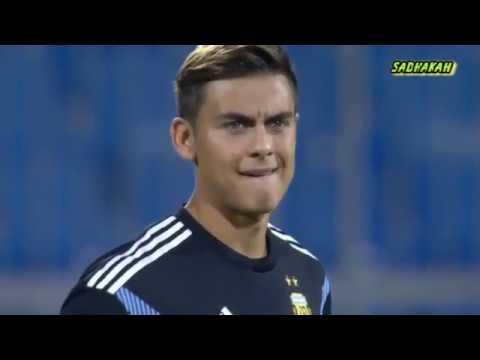 国際親善試合 アルゼンチンVSイラク メッシら不在のアルゼンチンがイラクに4発完勝!