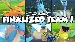 MY *EARLY* FINALIZED TIMELESS CUP TEAM! Pokemon GO PvP Timeless Cup Great League Matches