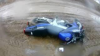 Mazi - MotoVlog    Am cazut cu motocicleta !!😱 [#5]