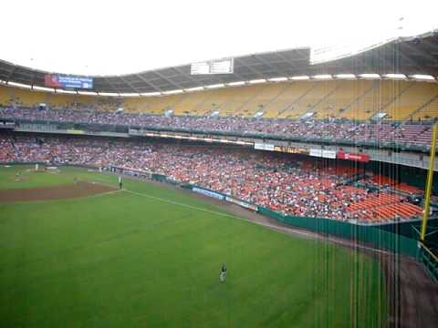 Washington Nationals @ RFK stadium