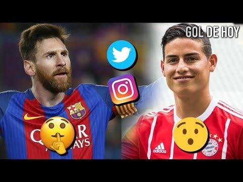 James encuentra un hermano en Munich | Messi calla a una leyenda (ex-barca)