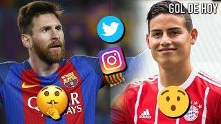 James encuentra un hermano en Munich   Messi calla a una leyenda (ex-barca)