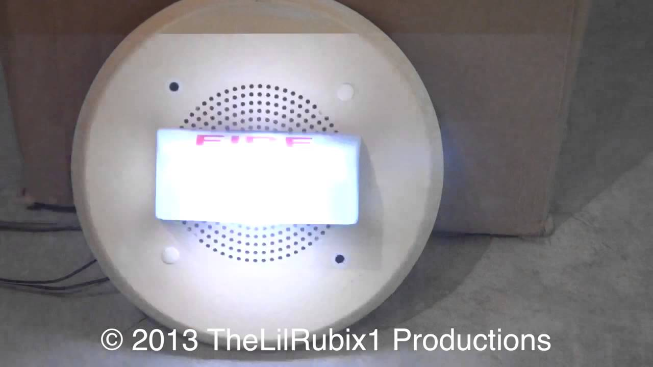 Fire Alarm Speaker Test Youtube