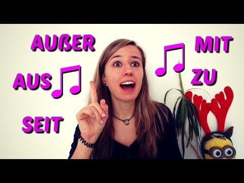 THE DATIVE part 4: How to EASILY remember the GERMAN DATIV PREPOSITIONS! (+SONG)