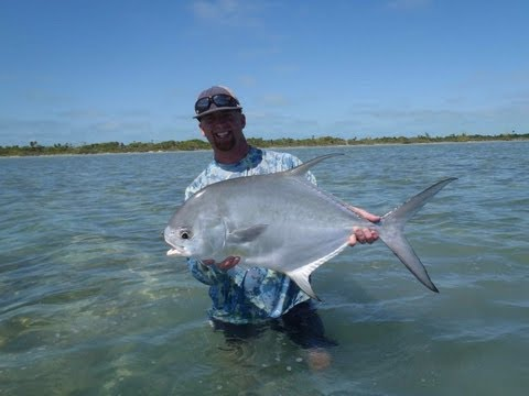 8 Permit In 4 Days Of Fly Fishing! - Xcalak, Mexico