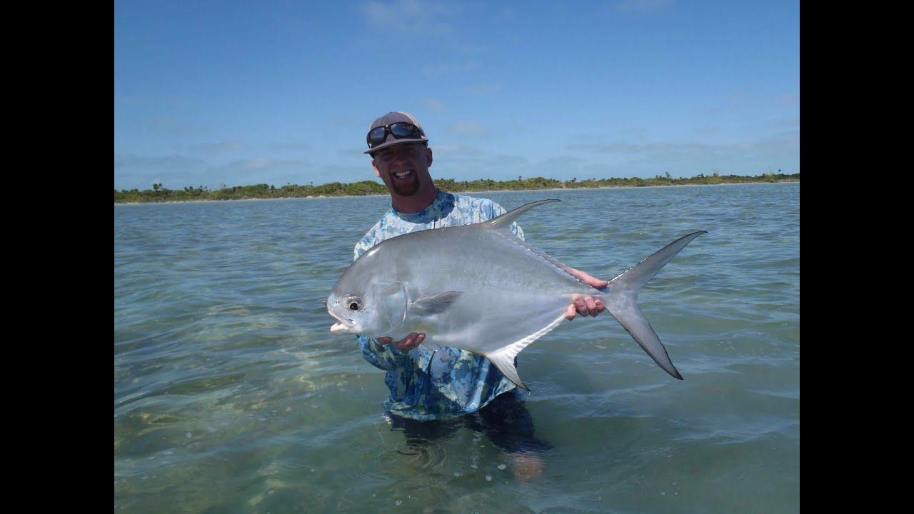8 permit in 4 days of fly fishing xcalak mexico youtube for What is the best time to go fishing
