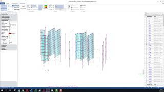 ProtaStructure 2019'da Analitik Model Filtreleme