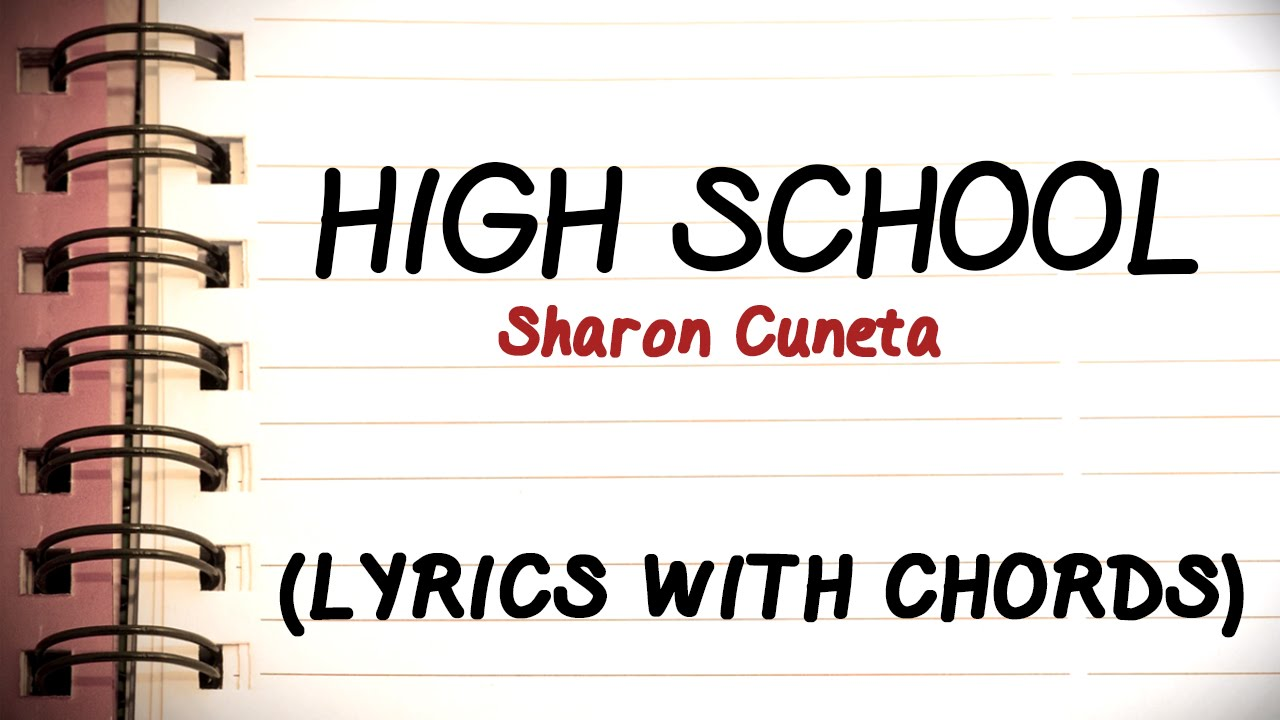Sharon Cuneta High School Official Lyric Video With Chords Youtube