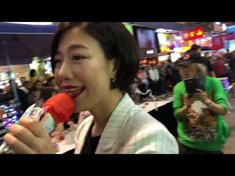 """旺角羅文 (2018-04-21 21:50)~ 天后歌手Stacey Long龍婷(小龍女)ending唱 """"飄雪 + 千言萬語"""""""