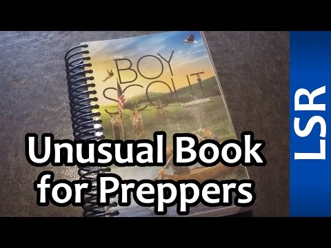 Unusual Book For Preppers - Boy Scout Handbook