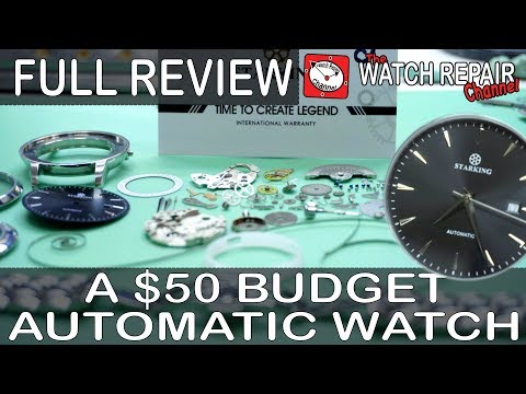 Starking Watches - Can A $50 Budget Automatic Be Any Good? Full Review